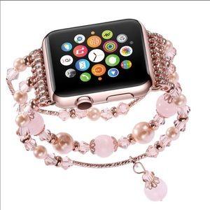 38mm/40mm Gemstone Apple Watch Fashion Bracelet